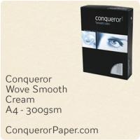 Paper Wove Cream A4-210x297mm 300gsm