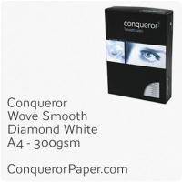 Paper Wove Diamond White A4-210x297mm 300gsm