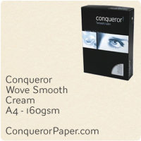 Paper Wove Cream A4-210x297mm 160gsm