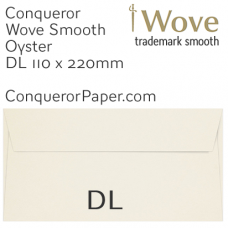 Envelopes Wove Oyster DL-110x220mm 120gsm