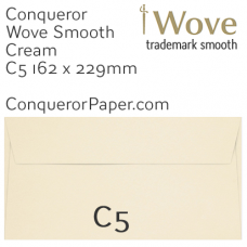 Envelopes Wove Cream C5-162x229mm 120gsm