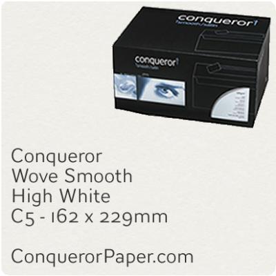 Envelopes Wove High White C5-162x229mm 120gsm