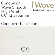 Envelopes Wove High White C6-114x162mm 120gsm