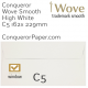 Envelopes Wove High White Window C5-162x229mm 120gsm