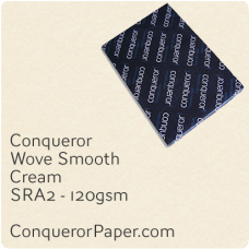 Paper Wove Cream SRA2-450x640mm 120gsm