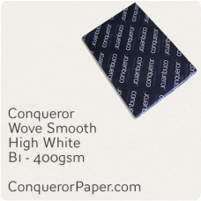 Paper Wove High White B1-700x1000mm 400gsm