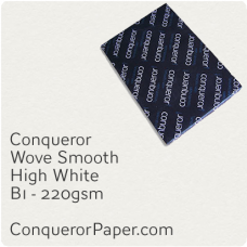 Paper Wove High White B1-700x1000mm 220gsm
