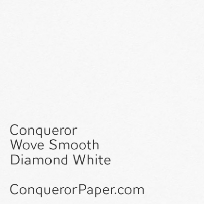 Wove Diamond White